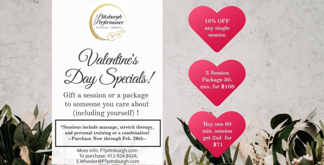Valentine's Day Specials — Click Here For More Info